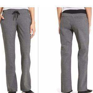 NEW Athleta Wool Midtown Trouser Pants in Gray
